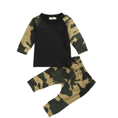 Little Camouflage Playsuit