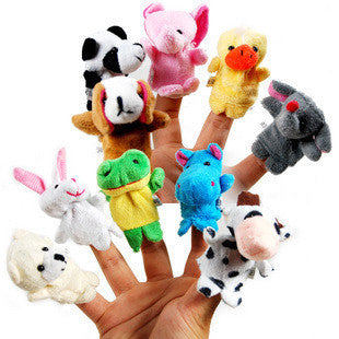 Finger Puppets - Set of 10
