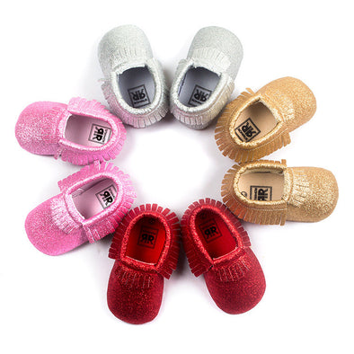 Sparkle Moccasins - 4 Colors!!!