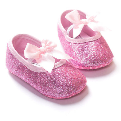 Sparkle Bow Booties - 4 Colors!!!