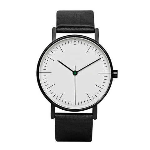 Black & White Minimalist Watch