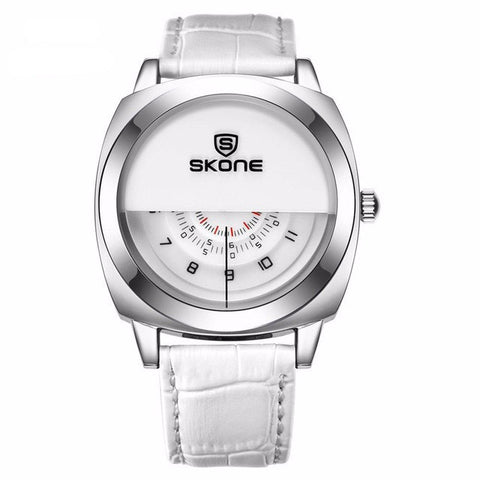 Futuristic White Watch