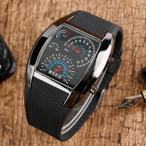 Tonneau Speedometer Sport Watch