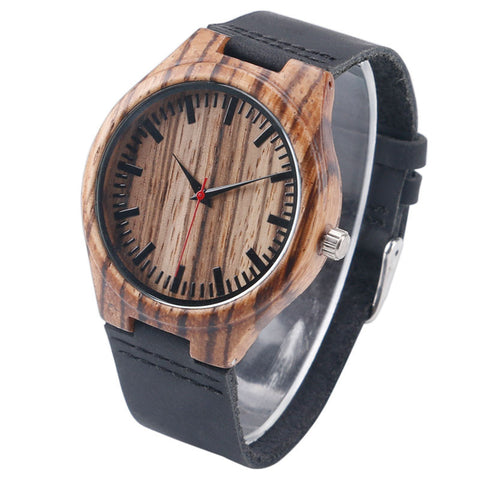 Woodgrain Bamboo Wooden Watch