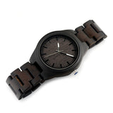Black Bamboo Wood Watch