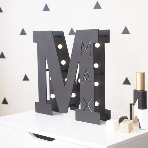 Personalised Letter Marquee Light