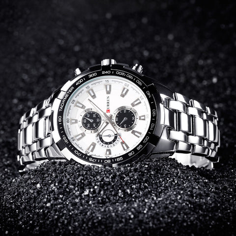Exquisite Men Water Resistant Watch