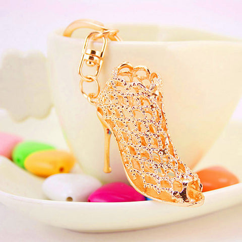 High Heel Shoes Keychain