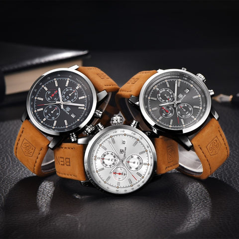 Quality Waterproof Mens Watch - FREE SHIPPING