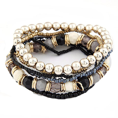 Multilayer Bohemian Bracelet