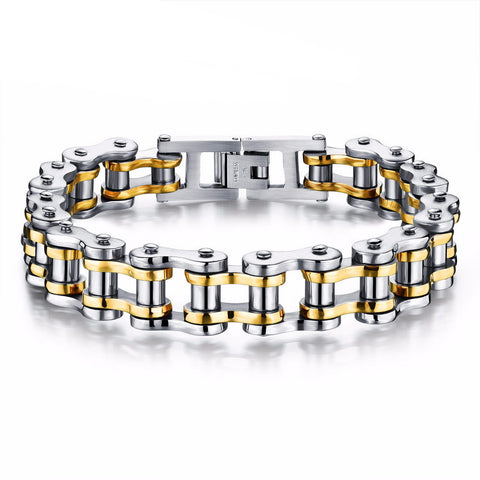Mens Bicycle Chain Bracelet
