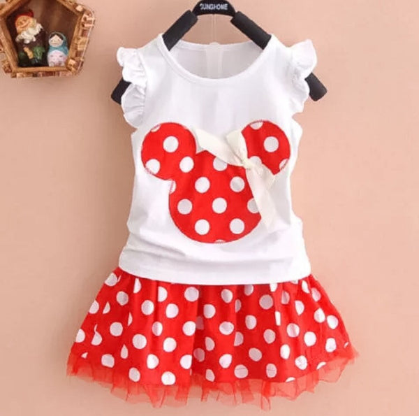Minnie inspired outfit-RED