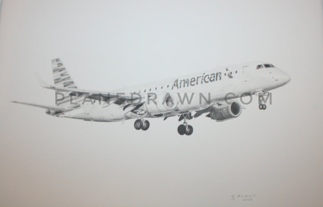 American Airlines Embraer 190 11