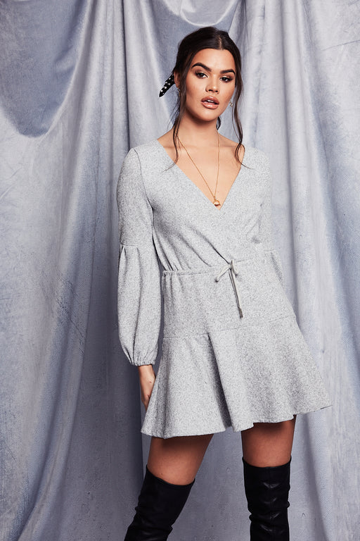 Frenchie Dress | Grey
