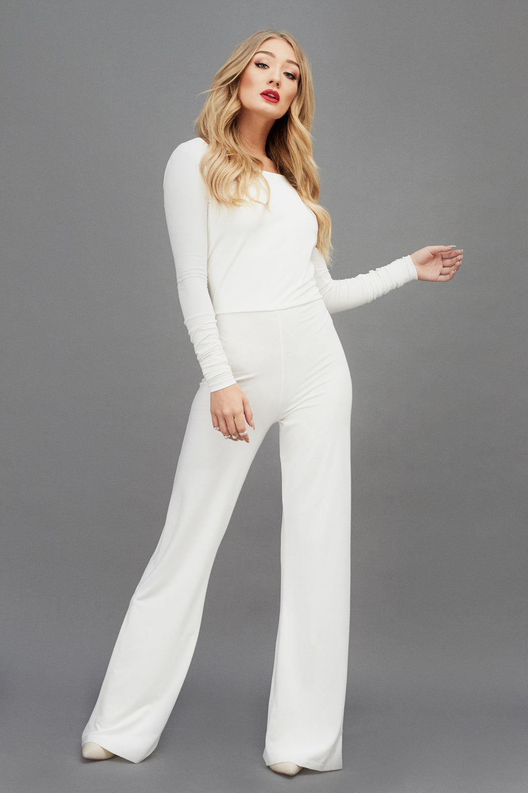 Broadway Jumpsuit | Cream