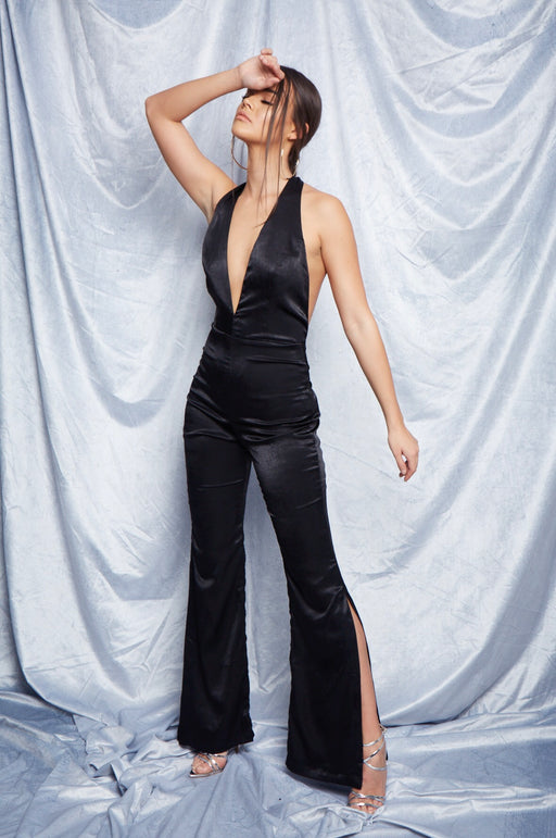 Temple Jumpsuit | Black
