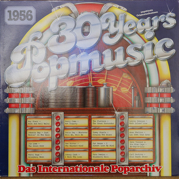 Various ‎– 30 Years Popmusic 1956