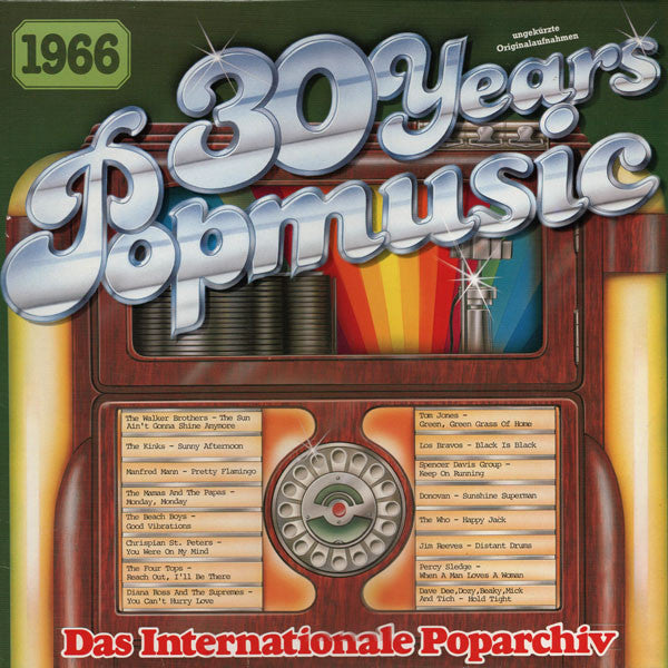 Various ‎– 30 Years Popmusic 1966