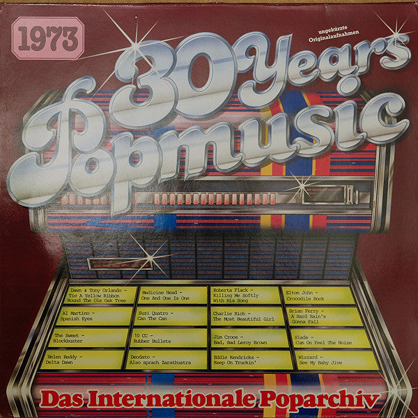 Various ‎– 30 Years Popmusic 1973