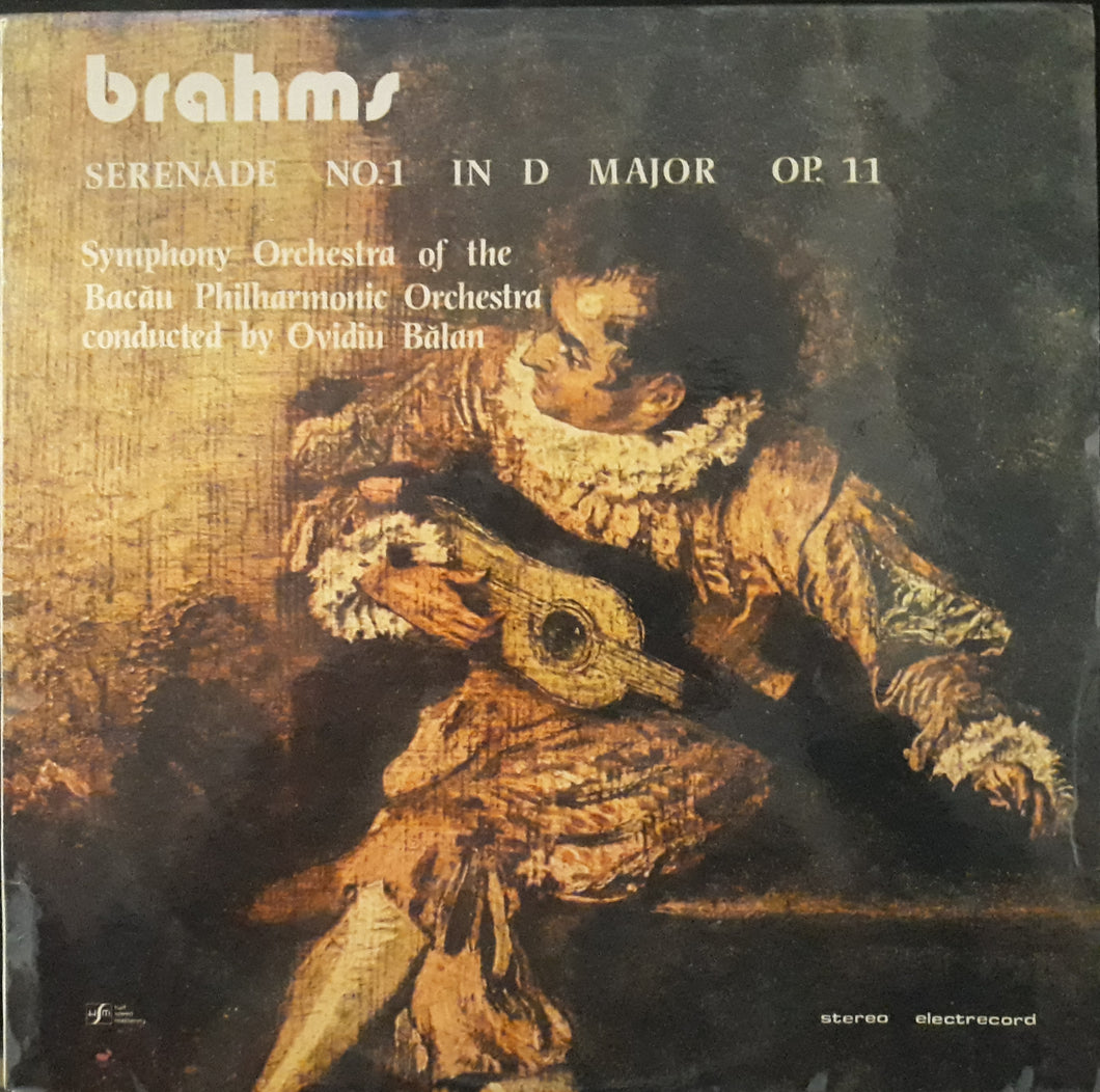 Brahms - Serenada Nr. 1 in Re Major pentru Orchestra, op. 11
