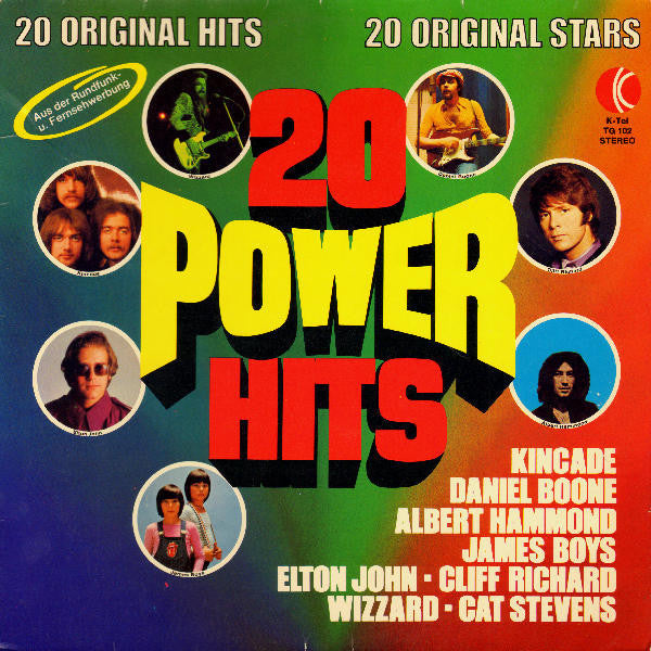 Various ‎– 20 Power Hits