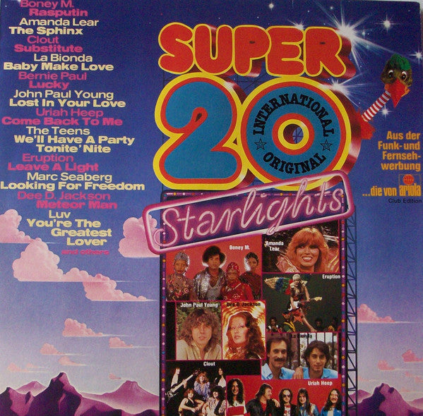 Various ‎– Super 20 International - Starlights