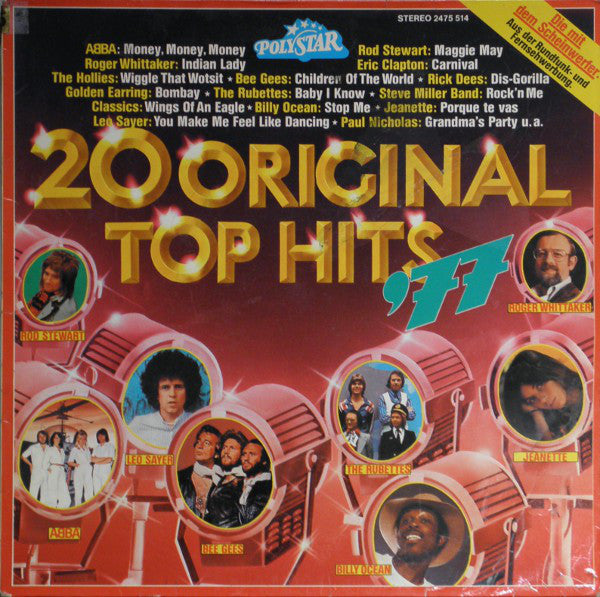Various ‎– 20 Original Top Hits '77