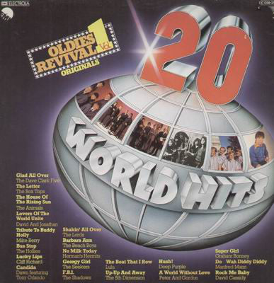 Various ‎– 20 World Hits - Oldies Revival Vol. 1