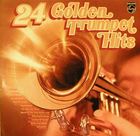 Various ‎– 24 Golden Trumpet Hits  2LP