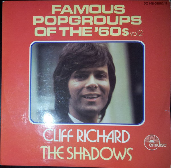 Cliff Richard & The Shadows ‎– Famous Popgroups Of The '60s Vol. 2  2LP
