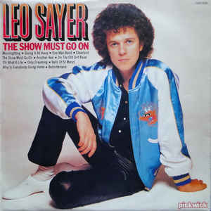 Leo Sayer ‎– The Show Must Go On