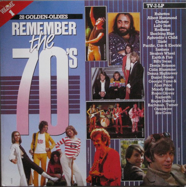 Various ‎– Remember The 70's - Volume 1   2LP