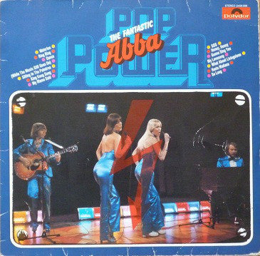 ABBA ‎– Pop Power (The Fantastic ABBA)
