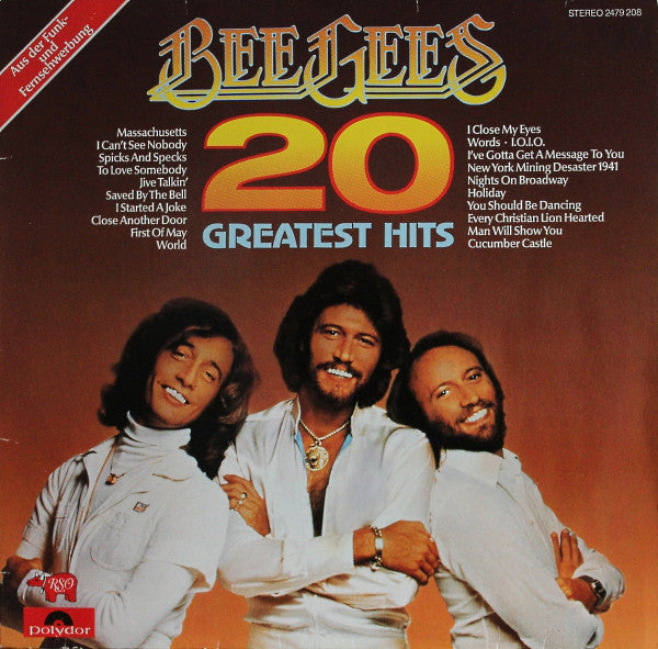 Bee Gees ‎– 20 Greatest Hits