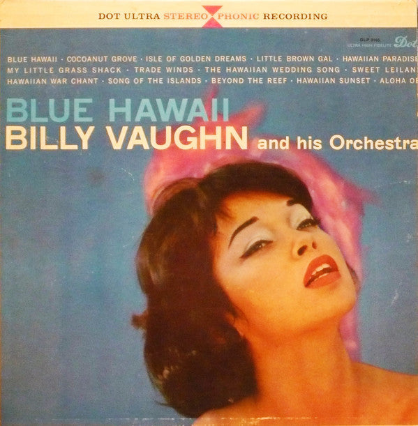 Billy Vaughn And His Orchestra ‎– Blue Hawaii
