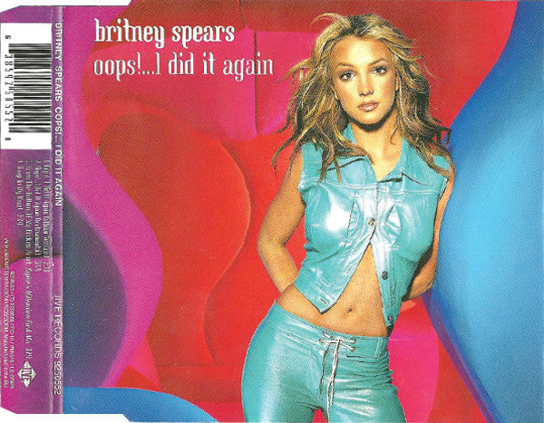 Britney Spears ‎– Oops!...I Did It Again (133)