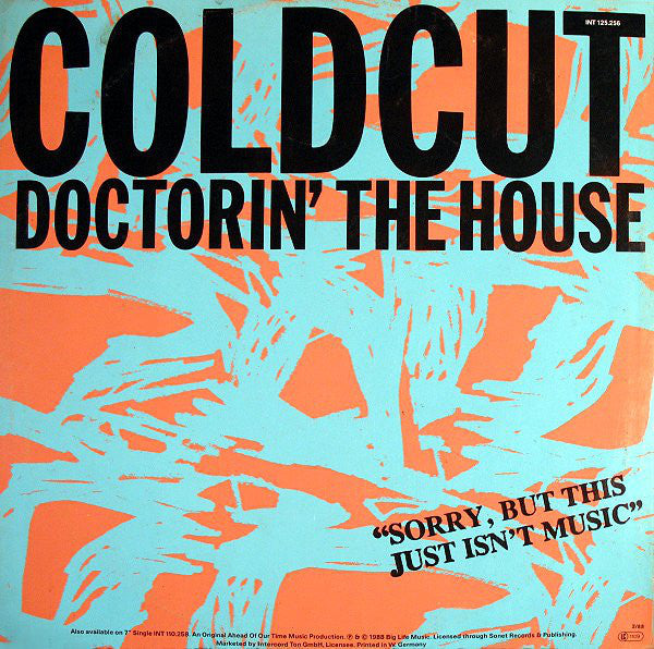 Coldcut ‎– Doctorin' The House