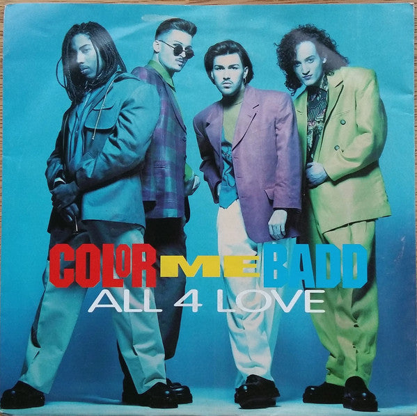 Color Me Badd ‎– All 4 Love