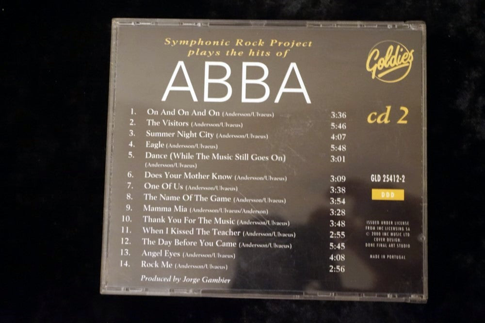 ABBA - SYMHONIC ROCK PROJECT PLAYS THE HITS OF CD2
