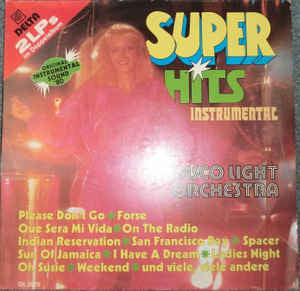 Disco Light Orchestra ‎– Super Hits Instrumental
