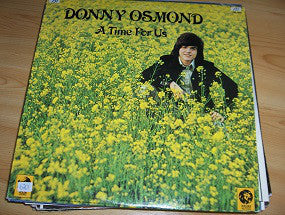 Donny Osmond ‎– A Time For Us