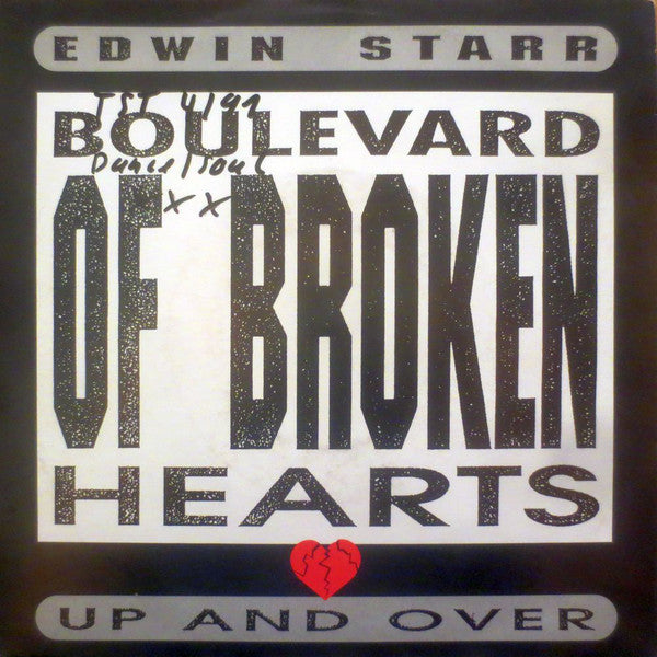 Edwin Starr ‎– Boulevard Of Broken Hearts