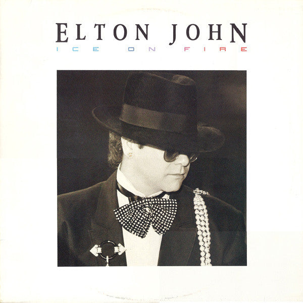 Elton John ‎– Ice On Fire