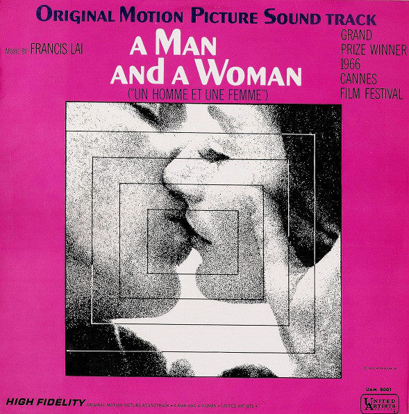 Francis Lai ‎– A Man And A Woman