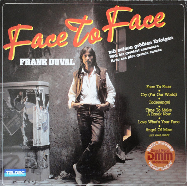 Frank Duval ‎– Face To Face