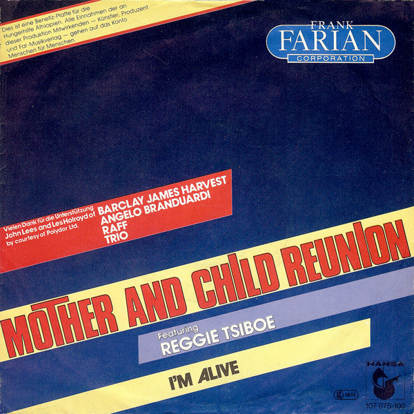 Frank Farian Corporation ‎– Mother And Child Reunion