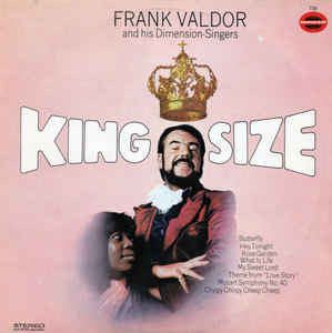 Frank Valdor And His Dimension-Singers ‎– Kingsize