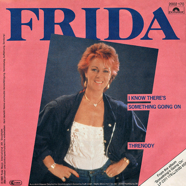 Frida ‎– I Know There's Something Going On / Threnody
