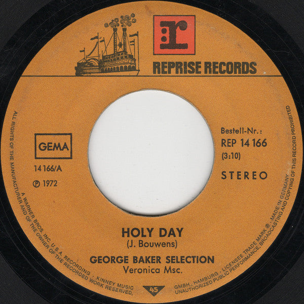 George Baker Selection ‎– Holy Day