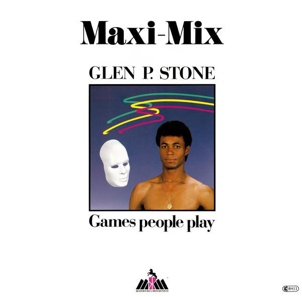Glen P. Stone ‎– Games People Play (Maxi-Mix)
